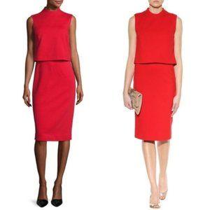 NWT! Diane Von Furstenberg TALI Red Popover Dress